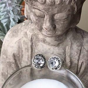 Jewelry - Elegant Crystal Stud Earrings